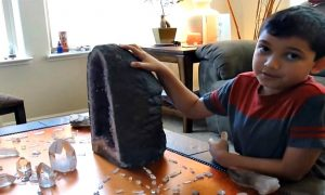 This 8 Year Old Prodigy Explains How He Uses Crystals To Transmute Dark Energy