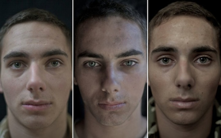 These Soldiers Were Photographed Before, During, And After War. The Results Will Disturb You