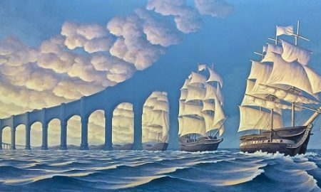 Want to see more beautiful optical illusions? Check out Robert's Facebook Page.