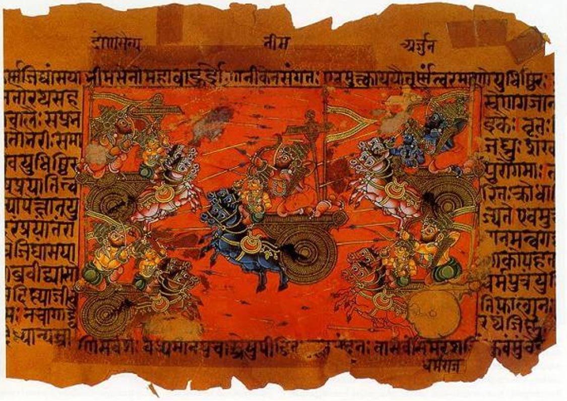 Sky-Battle-of-Kurukshetra