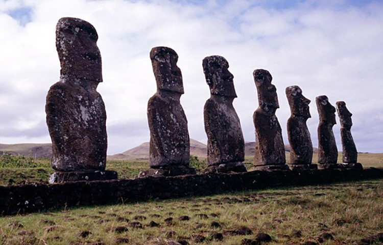 The Easter Island Heads Unbelievable